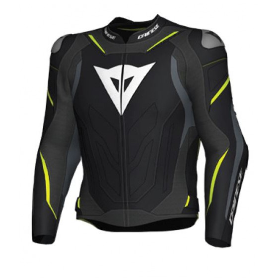 Chaqueta DAINESE SUPER SPEED 3 Black/gray/ yellow fluo