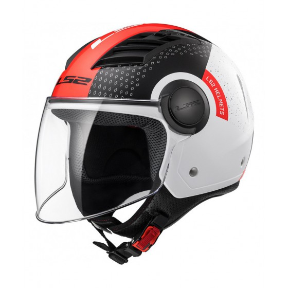 Casco Ls2 OF562 airflow Condor Red