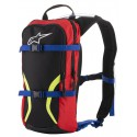 Mochila Alpinestars Iguana Hydration backpack black blue red yellow fluo