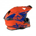 Casco X-Lite X-502 Matris Led Orange Blue