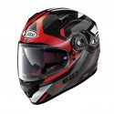 Casco X-Lite X-661 Motivator N-com Glossy Black Red
