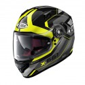 Casco X-Lite X-661 Motivator N-com Glossy Black Led Yellow