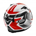 Casco X-Lite X-661 Motivator N-com Metal White Red
