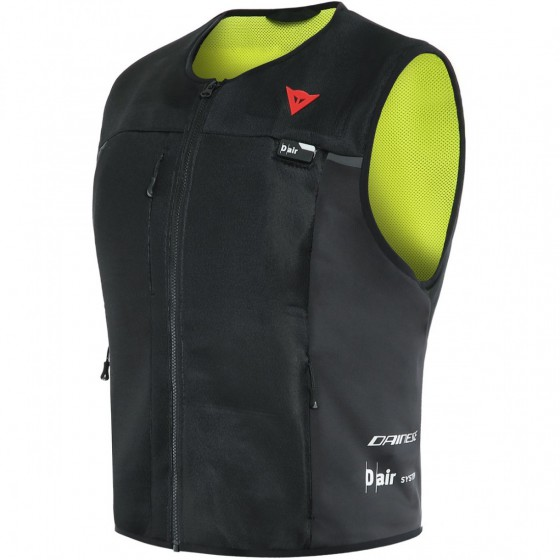 Chaleco Dainese Smart Jacket Man BLACK/FLUO-YELLOW