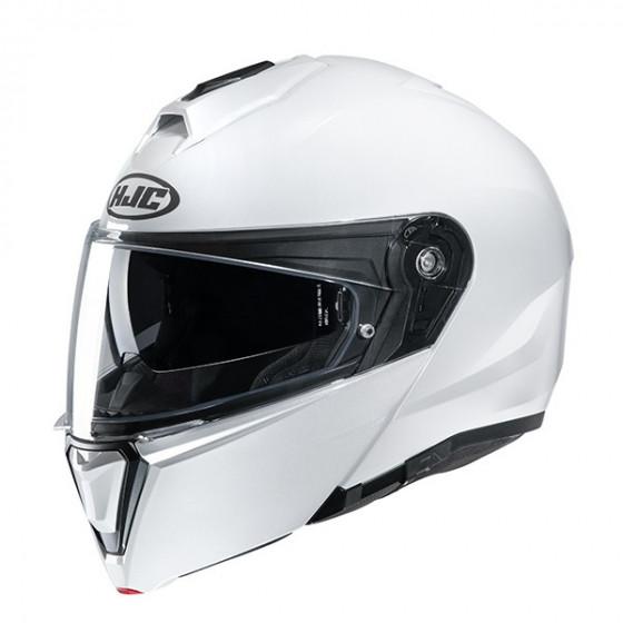 Casco HJC I90 Pearl white