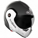 Casco ROOF BoXxer Face metal/pearl white