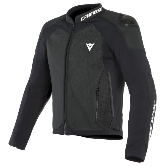 Chaqueta Dainese Intrepida Perf leather jacket BLACK-MATT/BLACK-MATT/BLACK-MATT