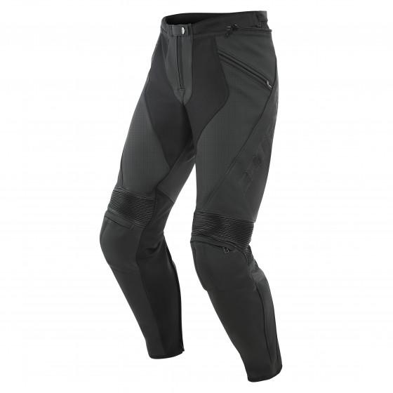 Pantalon Dainese Pony 3 Perf. leather pant BLACK-MATT