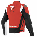Chaqueta Dainese Indomita D-Dry XT LAVA-RED/BLACK-MATT/WHITE