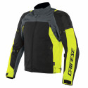 Chaqueta Dainese Speed Master D-Dry EBONY/FLUO-YELLOW/BLACK