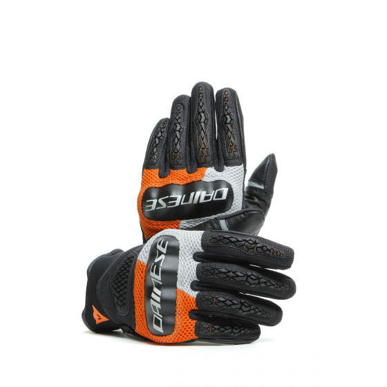 Guante Dainese D-Explorer 2 GLACIER-GRAY/ORANGE/BLACK