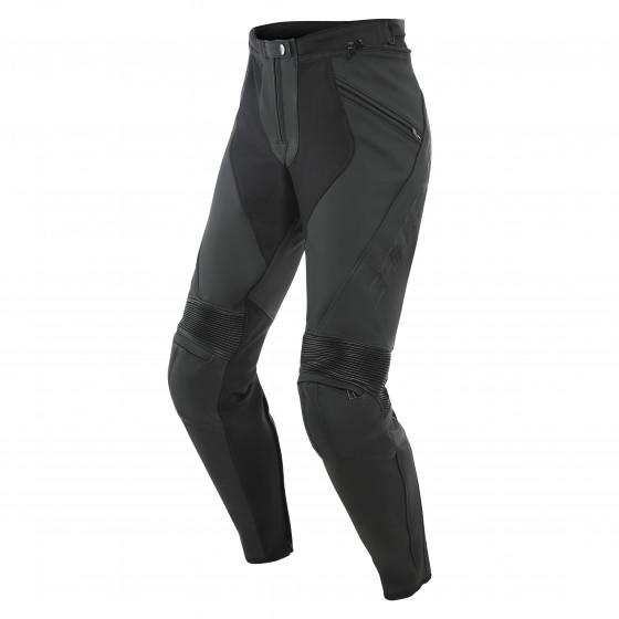 Pantalon Pony 3 Lady leather pants BLACK-MATT