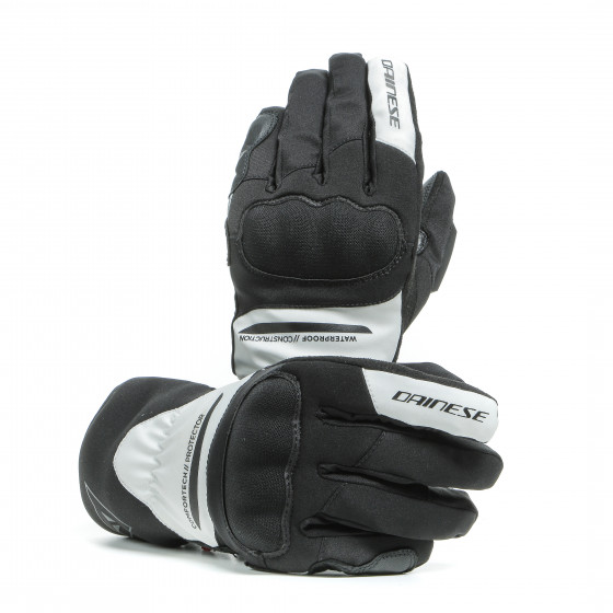 Guante Dainese Aurora Lady D-Dry BLACK/WHITE