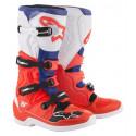 Botas Alpinestars Tech 5 blanco/rojo/azul