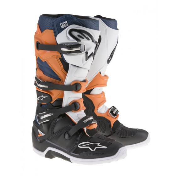 Botas Alpinestars Tech 7 negro/naranja