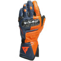 Guantes Dainese Carbon 317D-BLACK-IRIS/FLAME-ORANGE/FLUO-RED