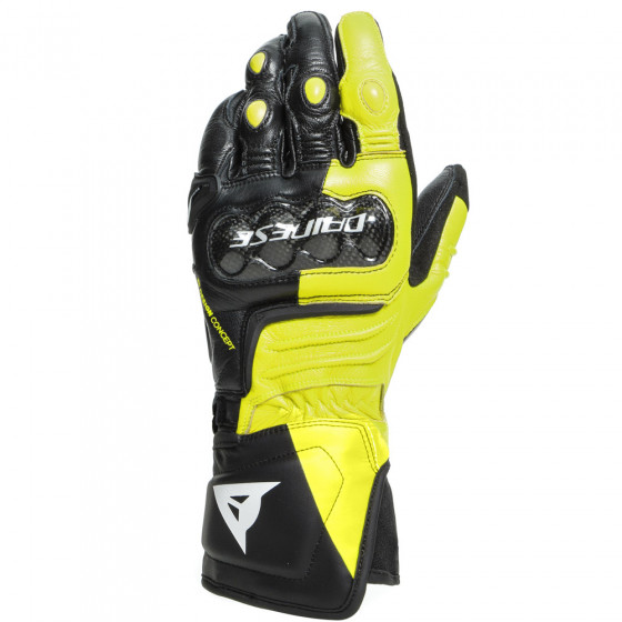 Guantes Dainese Carbon 3 BLACK/FLUO-YELLOW/WHITE