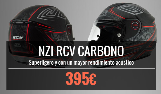 Casco NZI RCV Carbono